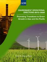 Environment Operational Directions 2013 2020 PDF