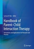 Handbook of Parent Child Interaction Therapy PDF