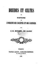Druides et Celtes, ou Histoire de l'origine des sociétés et des sciences
