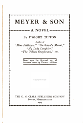 Meyer & Son: A Novel