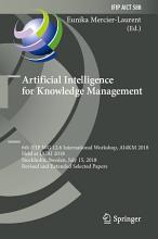 Artificial Intelligence for Knowledge Management PDF