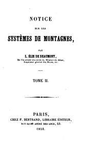 Notice sur les systèmes de montagues: Volume2