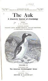 The Auk: Volume 2
