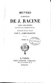 Oeuvres complètes: Les plaideurs. Britannicus. Bérénice. Bajazet