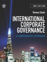International Corporate Governance PDF