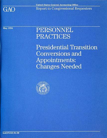 Personnel Practices PDF