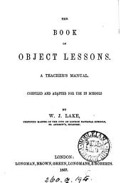The book of object lessons, a teacher's manual