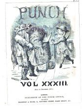 Punch: Volume 33