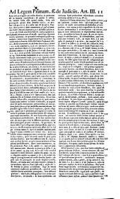 Petri Barbosae ... Commentarii ad interpretationem tituli Pandectarum de Judiciis