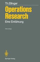 Operations Research: Eine Einführung, Ausgabe 3