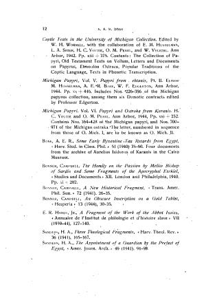 Aegyptus Rivista Italiana Di Egittologia E Di Papirologia