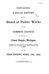 Annual Report: Volumes 32-34