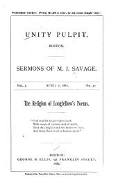 The Religion of Longfellow's Poems