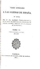 Viage literario á las iglesias de España: Segorbe. 1804