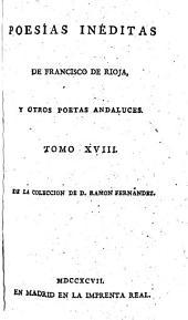 Poesias ineditas ... Madrid 1797