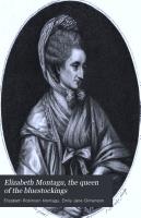 Elizabeth Montagu  the Queen of the Bluestockings PDF