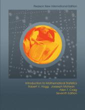 Introduction to Mathematical Statistics  Pearson New International Edition PDF eBook PDF