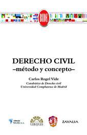 Derecho civil: Método y concepto