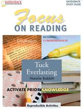 Tuck Everlasting Reading Guide