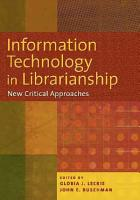 Information Technology in Librarianship PDF