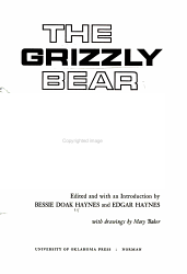 The Grizzly Bear Portraits From Life Book PDF