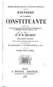 Histoire parlementaire de la Révolution française: Volume2
