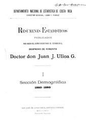 Sección demográfica. 1883-1893
