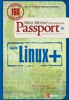 Mike Meyers  Linux  Certification Passport PDF