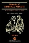 Behavior of Nonhuman Primates PDF