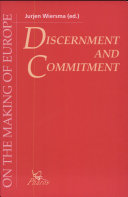 Discernment and Commitment