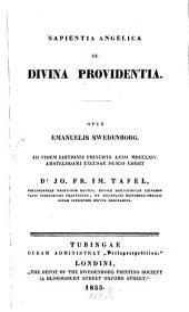 Sapientia angelica de divina providentia