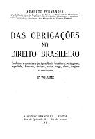 Das obriga    es no direito brasileiro PDF