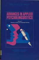Advances in Applied Psycholinguistics  Volume 2  Reading  Writing  and Language Learning PDF