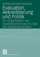 Evaluation  Akkreditierung und Politik PDF