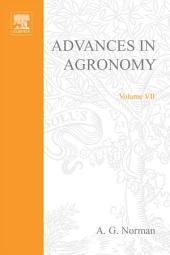 Advances in Agronomy: Volume 7