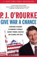 Give War a Chance PDF