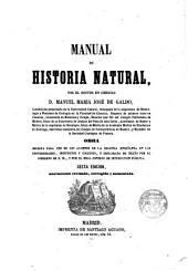 Manual de Historia Natural...