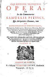 Caji Suetonii Tranquilli opera: Volume 2