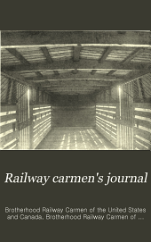 Railway Carmen's Journal: Volume 20