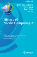 History of Nordic Computing 2
