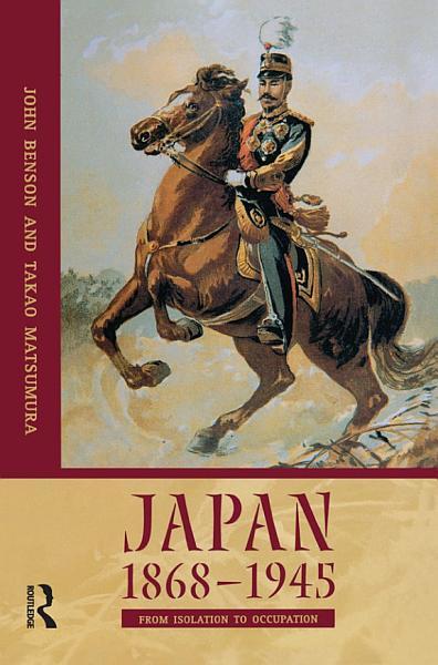Japan 1868 1945