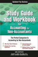 Study Guide and Workbook for Accounting for Non Accountants