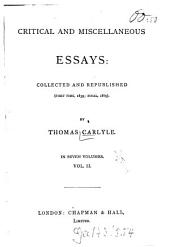 Critical and miscellaneous essays: in 7 vol, Volume 2