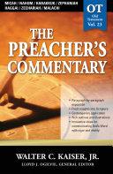 Micah / Nahum / Habakkuk / Zephaniah / Haggai / Zechariah / Malachi