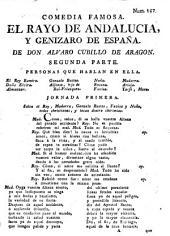 Comedia famosa, el Rayo de Andalucia, y genizaro de España: Parte 2