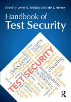 Handbook of Test Security PDF
