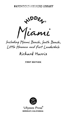 Hidden Miami PDF