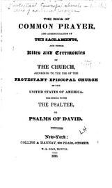 The Book Of Common Prayer    Administration Of The Sacraments    Other Rites   Ceremonies Of The Church