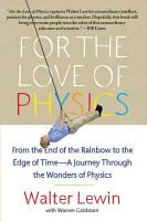 For the Love of Physics PDF