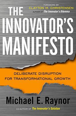 The Innovator s Manifesto